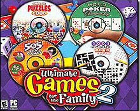 Ultimate Games for the Family 2 (PC) PC Game