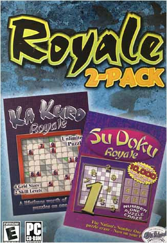 Royale 2 Pack-Ka Kuro Royale / Su Doku Royale (PC) PC Game