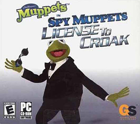Spy Muppets - License to Croak (Jewel Case) (PC) PC Game
