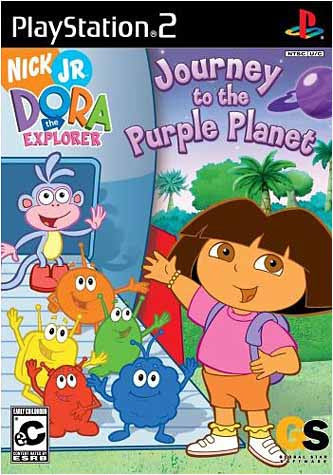 Dora The Explorer - Journey to The Purple Planet (Limit 1 copy per client) (PLAYSTATION2) PLAYSTATION2 Game