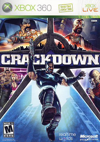 Crackdown (XBOX360) XBOX360 Game