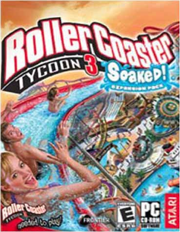Rollercoaster Tycoon 3 - Soaked! Expansion (PC) PC Game