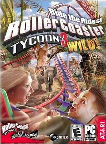 Rollercoaster Tycoon 3 - Wild! Expansion Pack (PC) PC Game