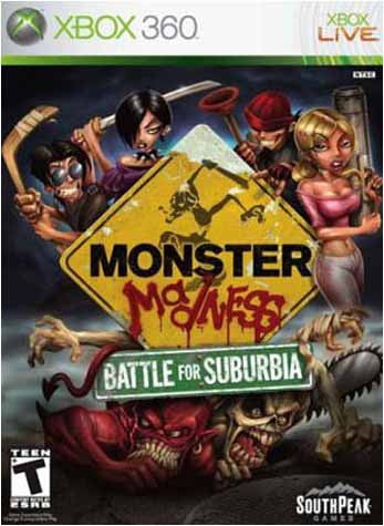 Monster Madness - Battle for Suburbia (XBOX360) XBOX360 Game