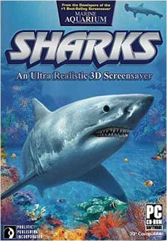 Sharks (3D Screensaver) (PC) PC Game