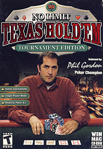 No Limit Texas Hold'em Tournament Edition 2006 (PC) PC Game