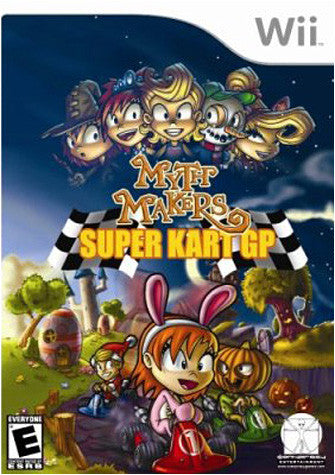 Myth Makers - Super Kart GP (NINTENDO WII) NINTENDO WII Game