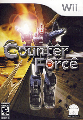 Counter Force (Bilingual Cover) (NINTENDO WII) NINTENDO WII Game