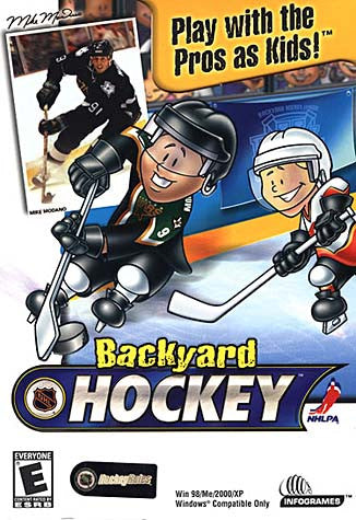 Backyard Hockey (PC) PC Game