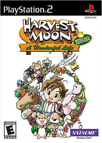 Harvest Moon - A Wonderful Life (Special Edition) (PLAYSTATION2) PLAYSTATION2 Game