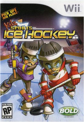 Kidz Sports - Ice Hockey (NINTENDO WII) NINTENDO WII Game