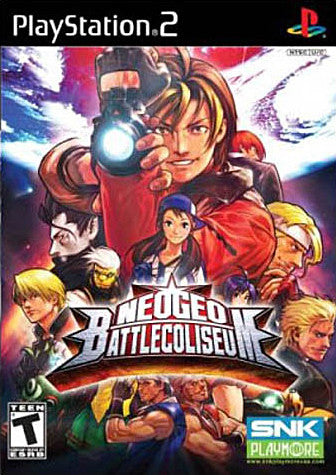 NeoGeo Battle Coliseum (PLAYSTATION2) PLAYSTATION2 Game