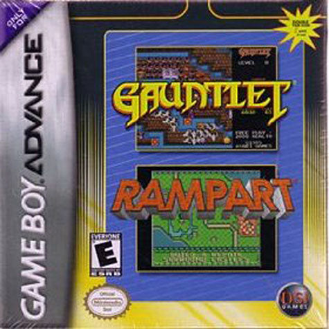 Gauntlet and Rampart Dual Pack (GAMEBOY ADVANCE) GAMEBOY ADVANCE Game