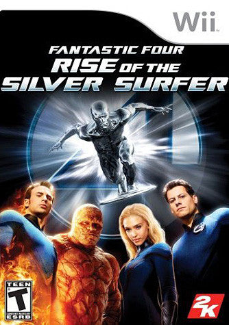 Fantastic 4 - Rise of the Silver Surfer (NINTENDO WII) NINTENDO WII Game