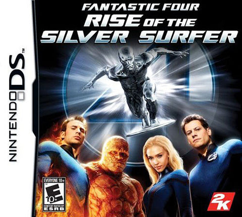 Fantastic 4 - Rise of the Silver Surfer (DS) DS Game