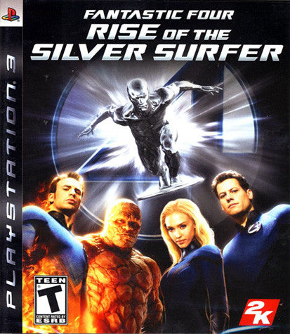 Fantastic 4 - Rise of the Silver Surfer (PLAYSTATION3) PLAYSTATION3 Game