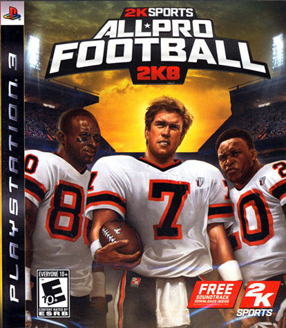 All Pro Football 2K8 (PLAYSTATION3) PLAYSTATION3 Game