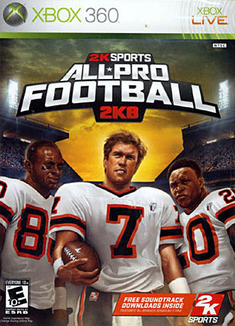 All Pro Football 2K8 (XBOX360) XBOX360 Game