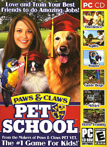 Paws and Claws - Pet School (Limit 1 per Client) (PC) PC Game