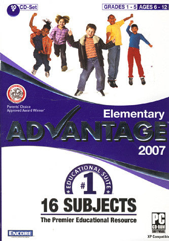 Elementary Advantage 2007 (PC) PC Game