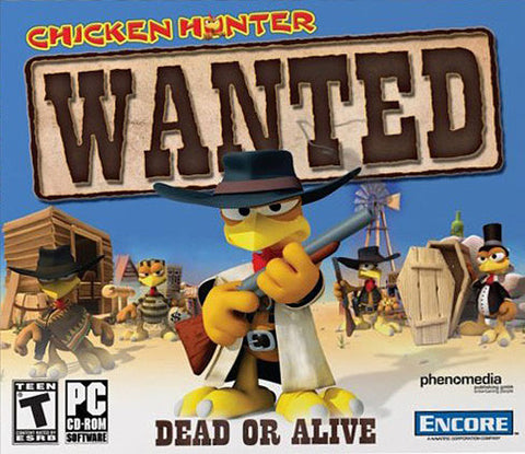 Chicken Hunter - Wanted (Jewel Case) (PC) PC Game