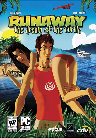 Runaway 2 - The Dream of the Turtle (DVD) (PC) PC Game
