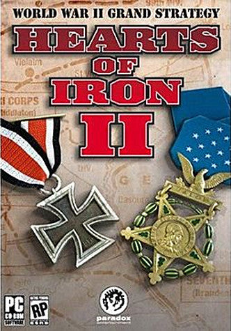 Hearts of Iron 2 (PC) PC Game