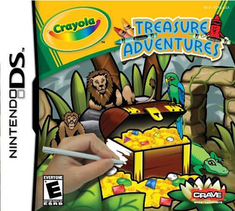 Crayola - Treasure Adventures (DS) DS Game