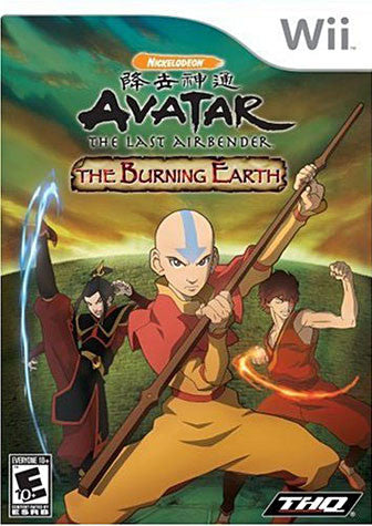 Avatar - The Last Air Bender - The Burning Earth (NINTENDO WII) NINTENDO WII Game