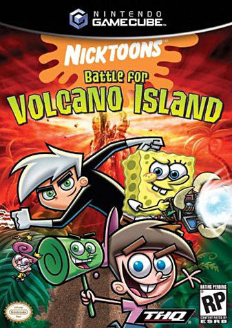 Nicktoons Battle for Volcano Island (GAMECUBE) GAMECUBE Game