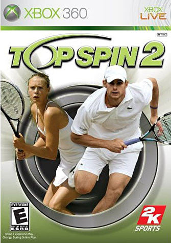 Top Spin 2 (XBOX360) XBOX360 Game