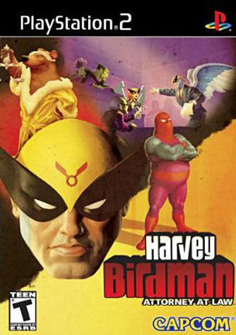 Harvey Birdman - Attorney at Law (Limit 1 copy per client) (PLAYSTATION2) PLAYSTATION2 Game