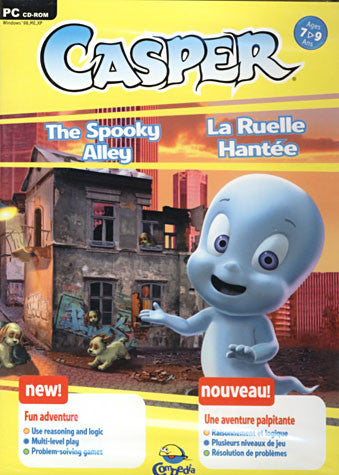 Casper - The Spooky Alley (French and English Version) (PC) PC Game