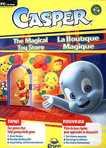 Casper - The Magical Toy Store (French and English Version) (PC) PC Game