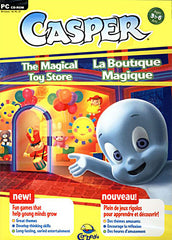 Casper - The Magical Toy Store (French and English Version) (PC)
