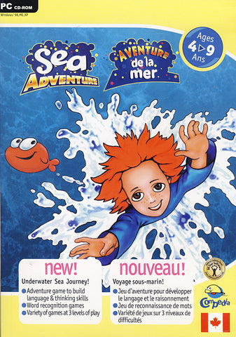 Sea Adventure / Adventure De La Mer (French and English Version) (PC) PC Game