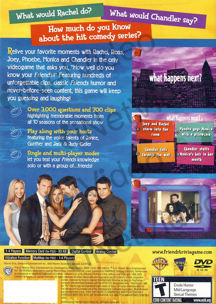 Friends - The One With All the Trivia (Limit 1 copy per client