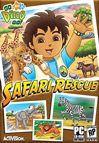 Go Diego Go! - Safari Rescue (PC) PC Game