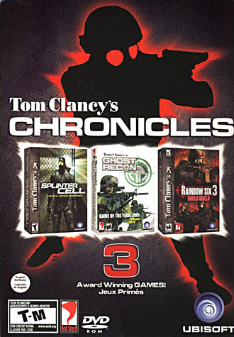 Tom Clancy s Chronicles (Splinter Cell/Ghost Recon/Rainbow Six 3) (PC) PC Game