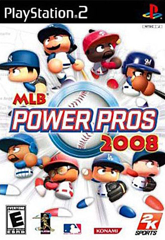 MLB Power Pros 2008 (PLAYSTATION2) PLAYSTATION2 Game