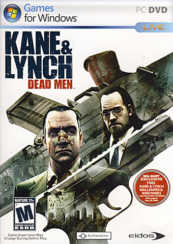 Kane And Lynch - Dead Men (DVD) (PC) PC Game