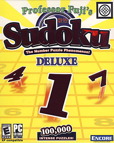 Professor Fuji's Sudoku Deluxe (PC) PC Game