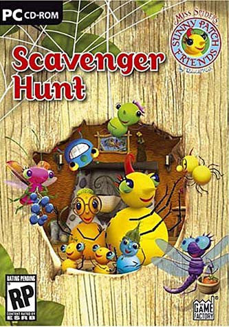 Miss Spider Scavenger Hunt (Win and Mac) (PC) PC Game