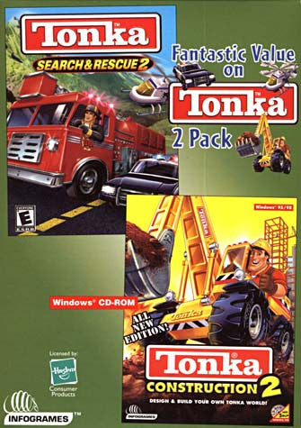Tonka Search and Rescue 2 / Tonka Construction 2 (PC) PC Game
