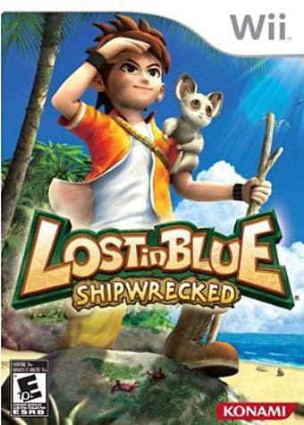 Lost In Blue - Shipwrecked (NINTENDO WII) NINTENDO WII Game