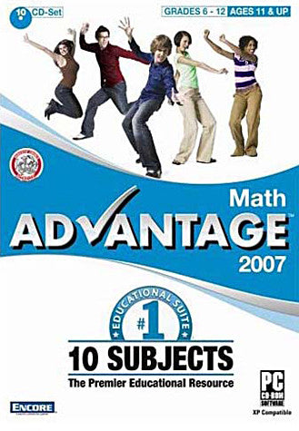 Math Advantage 2007 (PC) PC Game