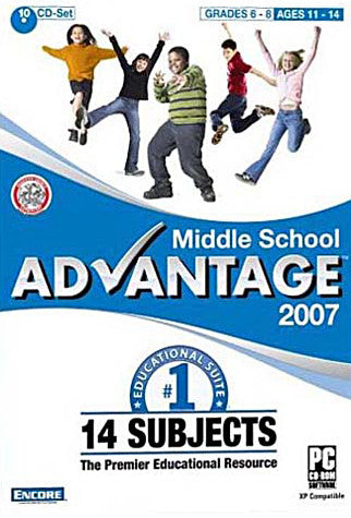 Middle School Advantage 2007 (PC) PC Game