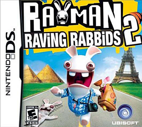 Rayman Raving Rabbids 2 (DS) DS Game