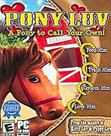 Pony Luv - A Pony To Call Your Own (PC) on PC Game