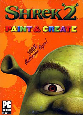 Shrek 2 Paint & Create (PC) PC Game